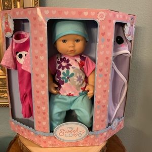 NWT NEW My Sweet Love Baby 6pc Baby Doll & Outfits